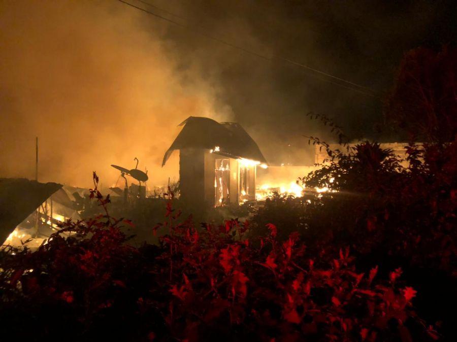 Sembilan Unit Rumah Masyarakat Hangus Terbakar di Kecamatan Bener Kelipah